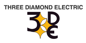 Three Diamond Electric Logo